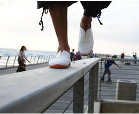 נעלי טורו - לבן