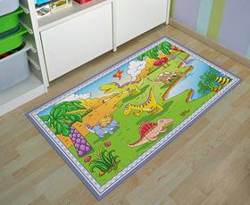 """שטיח """"דינוזאורים"""" - 80X60 ס""""מ"""