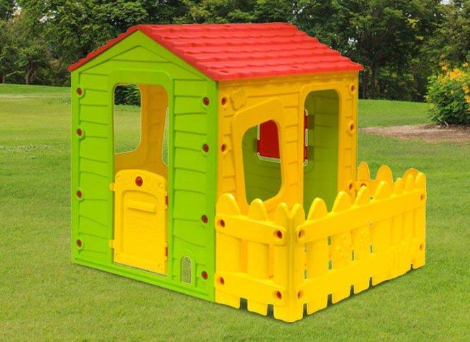 מודיעין בית משחק לילדים עם מרפסת - באליגם LQ-27